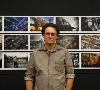 Paolo Pellegrin presented his first retrospective in Munich. (Photo: Stefan Becker)