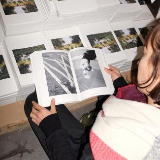 2019: Der Ausstellungskatalog war ein voller Erfolg. Foto: Gina Bolle